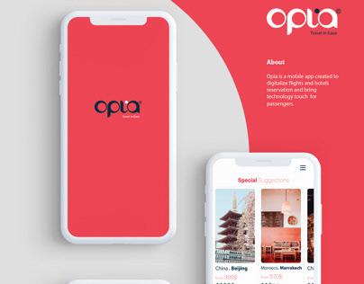 Opia ios app design