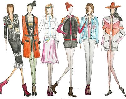 The Bershka Project, SS2017 Women's Outerwear.