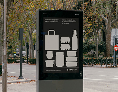 Madrid City council's plastic usage campaign