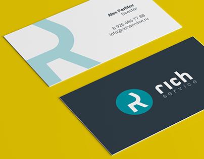 RICH SERVICE company branding