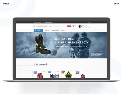 Eshop/website redesign.