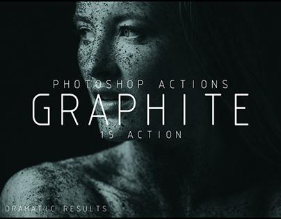 GRAPHITE PHOTOSHOP ACTIONS