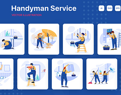 M139_Handyman Service Illustrations