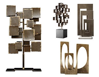 Modern Sculptures 3d models