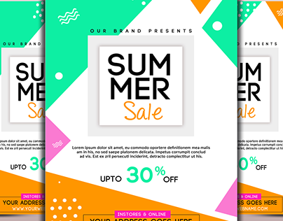 Summer Big Sale Flyer Temp