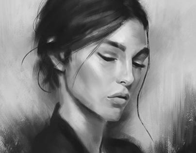 Portrait studies III
