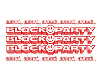 antoni Blockparty 2019