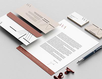 Visual identity for WA, design studio