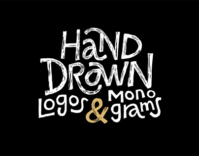 Hand Drawn Logos & Monograms Collection
