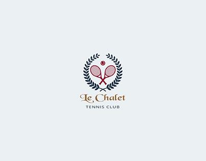 Logo design Le Chalet Tennis Club - Bruxelles