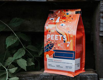 Peet's Coffee Packaging Redesign