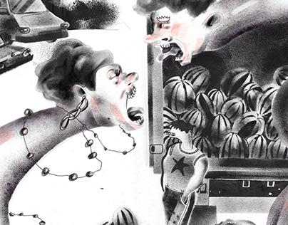 The Unknown stencil series
