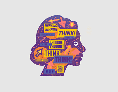 Think. Thinking. Thought.