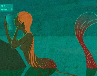 Chatting Teen Mermaid