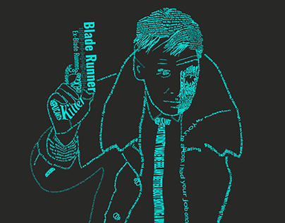 Blade Runner Typography Project