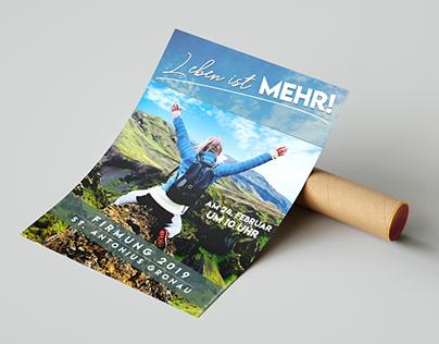 """Plakat """"Leben ist MEHR!"""" (2019)"""