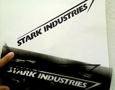 Stark Industries Stencil
