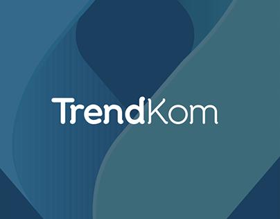 TrendKom Logo Design