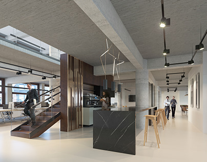 New office space in Amsterdam.