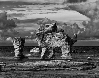 Rauks at Fårö island - Sweden