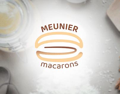 MEUNIER macarons | Brand identity