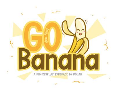 Go Banana Font Free