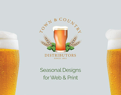 T&C Seasonal Beer Graphics for Web & Print