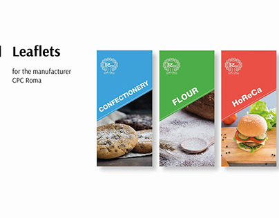 Leaflets for the manufacturer CPC Roma