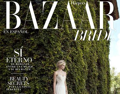 Harper's Bazaar Bride Cover