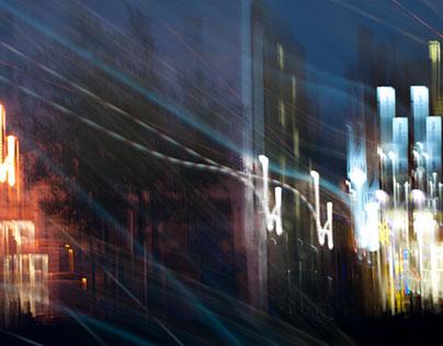 Book Cover: Eng Stad ënnert dem Himmel