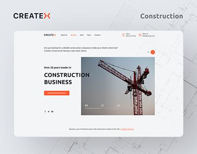 Createx - Construction Company