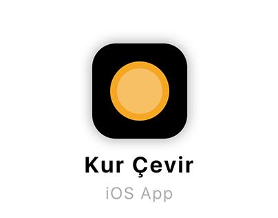 Kur Cevir App - iOS Concept