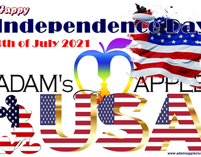 Happy Independence Day USA 2021 Adams Apple Club