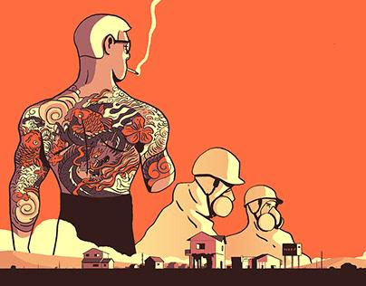 Le Yakuza de l'Atome