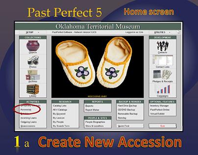 Museum Software training manual