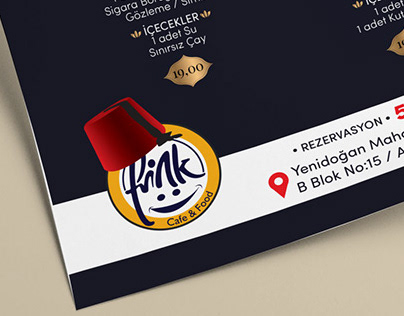 Fink Cafe Flyer