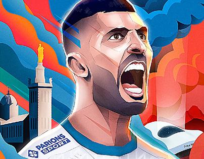 Illustration for Olympique de Marseille