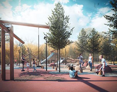 Playgrounds X YoArchitects