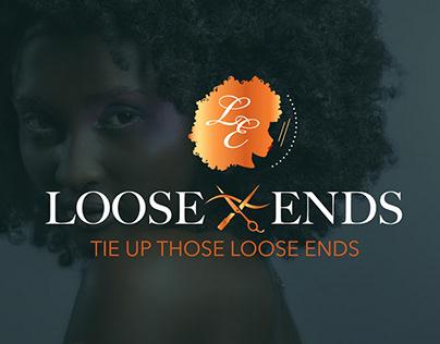Loose Ends Luxury Hair Salon - Branding
