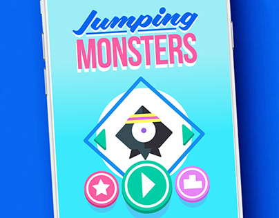 Jumping Monster. Mobile Game