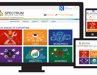 Art Director, Website Redesign