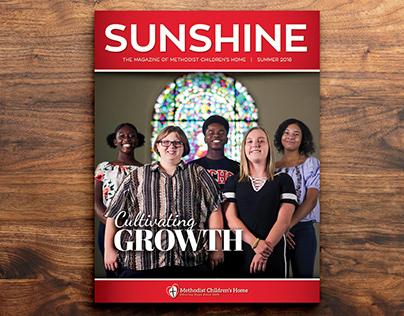 MCH Sunshine Magazine Design (Sample Series 2)