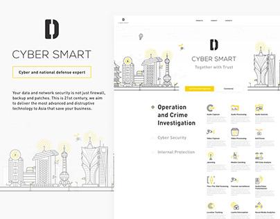 Cybersmart • Website design