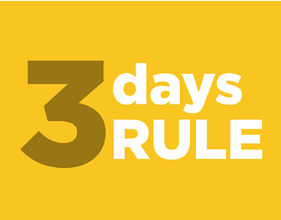 The 3 Days Rule - Type in Motion
