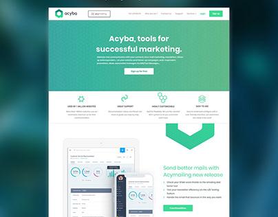 Product marketing & digital solution for ACYBA @JETPULP