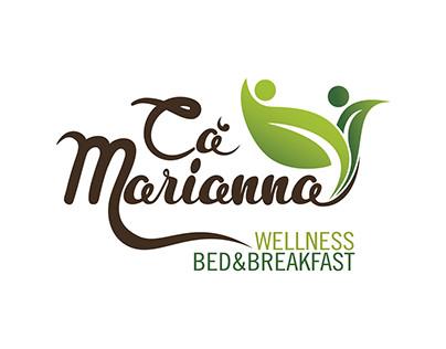 Nuovo logotipo perCa'Marianna WellnessBed&Breakfast