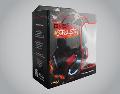 PACKAGING - GAMING HEADSET [GH5-KILLER]