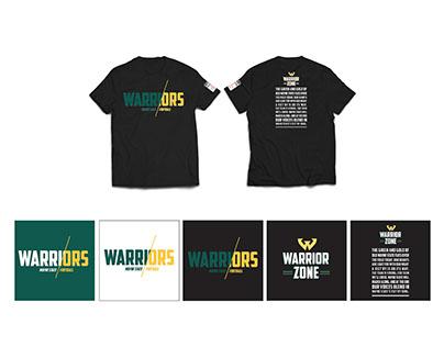 Warrior Zone apparel design