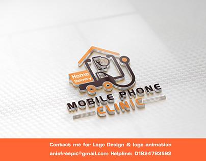 Mobile Phone Branding Logo