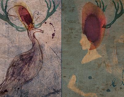 Le pavon et la femme
